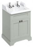 Casa Padrino Luxus Waschschrank / Waschtisch mit 2 Türen 67 x 58 x H. 93 cm