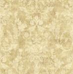Casa Padrino Barock Papiertapete Beige / Gold - 10, 00 x 0, 52 m - Edle Mustertapete im Barockstil