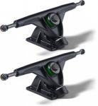 Mindless Longboard Profi Achsen Set Schwarz 180mm (2 Achsen) - Long Board Skateboard Truck Set - Trucks