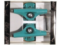 Krown Skateboard Truck Set 5.0 green (2 Trucks)