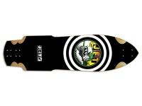 Jet Skateboard Longboard Raptor X Warthogs Longboard Deck 10 x 37.5