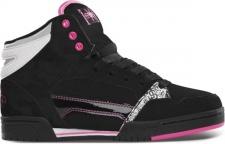 Etnies Skateboard Damen Schuhe FSAS X TWITCH UPTOWN 2.0 Black Pink