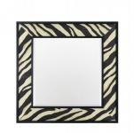 Casa Padrino Designer Luxus Wandspiegel 100 x H 100 cm - Luxus Spiegel