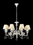 Casa Padrino Barock Kristall Decken Kronleuchter Gold 76 x H 51 cm Antik Stil - Möbel Lüster Leuchter Hängeleuchte Hängelampe