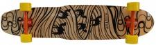 Koston Longboard Kicktail Carver Komplettboard Silk Road 44.0 x 9.75 inch - Profi Longboard Komplett Cruiser