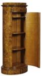 Casa Padrino Luxus Jugendstil Kommode mit Tür Hellbraun 62 x 39 x H. 145 cm - Barock & Jugendstil Möbel