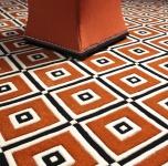 Casa Padrino Designer Teppich aus Neuseeland Wolle 290 x 290 cm - Luxus Qualität