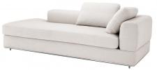 Casa Padrino Designer Sofa Naturfarbig Rechtsseitig 231 x 101 x H. 85 cm - Luxus Wohnzimmer Möbel