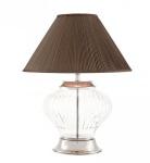 Casa Padrino Luxus Tischleuchte Nickel Durchmesser 35 x 55 x H 68 cm - Luxus Leuchte