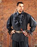John Calles Piraten Shirt - Black
