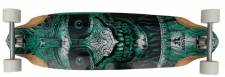 Koston Longboard Profi Komplettboard Cruiser / Carver Skull Amort 36.7 x 10.0 inch - High End Longboard Carving Board