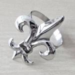 Casa Padrino Luxus Serviettenringe 6er Set Silber - Restaurant Accessoires
