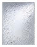 Casa Padrino Luxus Wandspiegel Silber 100 x H. 132 cm - Designer Hotel Accesoires
