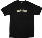 Emerica Skateboard T-Shirt Black