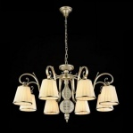 Casa Padrino Barock Decken Kronleuchter Antik Gold 82 x H 49 cm Antik Stil - Möbel Lüster Leuchter Hängeleuchte Hängelampe