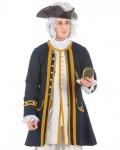 Edler Piratenmantel Admiral - Larp Kleidung - Mantel Pirat Mittelalter Barock Renaissance Bekleidung Kostüm Authentisch