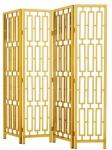 Casa Padrino Designer Edelstahl Raumteiler Gold 200 x H. 225 cm - Limited Edition
