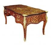 Casa Padrino Barock Schreibtisch 180 x 80 x H. 80 cm - Luxus Qualität