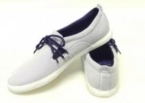 SUPRA Skateboard Schuhe- Cuban- Blau/Weiß Streifen