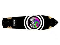 Jet Skateboard Longboard Raptor SkyDye Longboard Deck 10 x 38.5