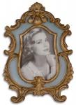 Casa Padrino Barock Bilderrahmen Antik Gold 18, 5 x H. 26, 6 cm - Prunkvoller Tisch-Bilderrahmen im Barockstil