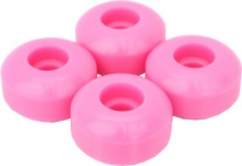 Skateboard Blank Wheel Set Pink 51mm / 100A (1 Set = 4 Rollen)