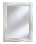 Casa Padrino Luxus Designer Wandspiegel Weiß 106 x H. 140 cm - Hotel Möbel & Accessoires