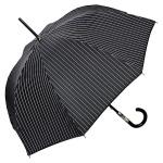 Jean Paul Gaultier Luxus Designer Regenschirm mit einem schönen Bezug in Nadelstreifenoptik - Luxus Design - Eleganter Stockschirm