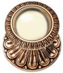 Casa Padrino Barock Türknopf / Türknauf Set Französisches Gold Ø 8 cm - Barock Deko Accessoires