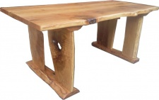 Casa Padrino Vintage Esstisch Eiche Rustikal Massiv 200 x 100 cm Mod TR2 - Landhaus Stil Tisch massives Eichenholz