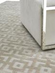 Casa Padrino Luxus Teppich Elfenbeinfarben 170 x 240 cm - Wohnzimmerteppich