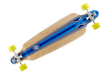 Mindless Complete Longboard Savage III Blue Drop Through 39.75 x 10.0 inch - Dropthrough Profi Longboard mit Koston Kugellagern