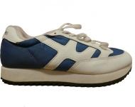 XLArge Sport Schuhe White/Navy 1 B Ware