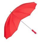 """MySchirm Designer Regenschirm, Motivschirm """" Herz"""" in Rot Model Paris - Eleganter Stockschirm"""