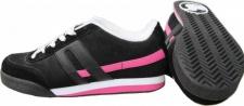DVS Skateboard Schuhe Dresden Black/White/Pink-1B Ware