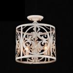 Casa Padrino Barock Decken Kronleuchter Creme Gold 43 x H 36 cm Antik Stil - Möbel Lüster Leuchter Deckenleuchte Hängelampe