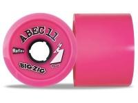 ABEC 11 Reflex BigZigs Pink 77A 70mm Longboard Rollen Set (4 Rollen) - Longboard Wheels