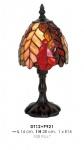 Tiffany Tischleuchte Durchmesser 14cm, Höhe 28cm DT12+P921 Leuchte Lampe