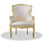 Casa Padrino Barock Sessel 70 x 65 x H. 100 cm - Luxus Salon Sessel