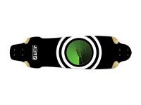 Jet Skateboard Longboard Machine On Radar Longboard Deck 10.15 x 37.3