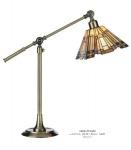 Casa Padrino Tiffany Schreibtischleuchte - Glas Mosaik Leuchte Lampe Mod DL2