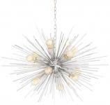 Casa Padrino Luxus Kronleuchter Silber Ø 90 x H. 60 cm - Luxus Möbel
