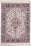 Casa Padrino Luxus Wohnzimmer Teppich Elfenbeinfarben - Verschiedene Größen - Gemusterter Teppich mit Fransen - Luxus Kollektion