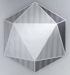 Casa Padrino Luxus Spiegel 87 x H. 100 cm - Designer Wohnzimmermöbel