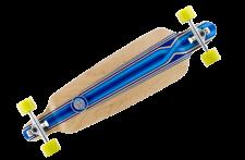 Mindless Complete Longboard Savage III Blue Drop Through 39.75 x 10.0 inch - Dropthrough Profi Longboard mit Koston Kugellagern