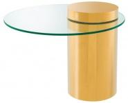 Casa Padrino Designer Beistelltisch Gold 65 x H. 51 cm - Luxus Möbel