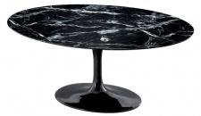 Casa Padrino Luxus Esstisch Oval 170 x 110 x H. 75 cm - Luxus Esszimmermöbel