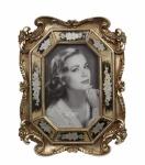 Casa Padrino Barock Bilderrahmen Antik Silber H 24, 4 cm, B 18, 8 cm
