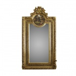 Casa Padrino Antikstil Spiegel 105 x H. 192 cm - Barock Wandspiegel