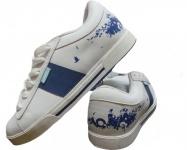 Osiris Skateboard Schuhe Volley Girls White/ Collage/Blue